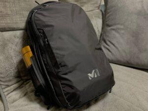 新たに購入したBackPack:MILLET (ミレー) EXP 20+