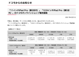 第3世代 11インチ iPad Pro 256GBね…うん